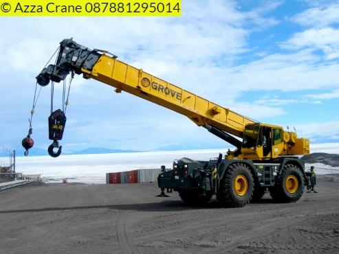 Sewa mobil Crane terbaik di Kubang Puji 087881295014