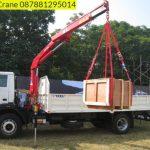 Sewa mobil Crane terbaik di Margawangi 087881295014