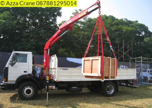 Sewa mobil Crane terbaik di Mulyaharja 087881295014