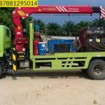 Sewa mobil Crane terbaik di Kalitimbang 087881295014