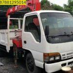 Sewa mobil Crane terbaik di Sorongan 087881295014