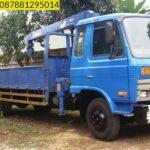Sewa mobil Crane terbaik di Wirasinga 087881295014