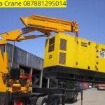 Sewa mobil Crane terbaik di Tugu 087881295014