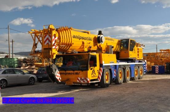 Sewa mobil Crane terbaik di Ciherang 087881295014