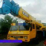Sewa mobil Crane terbaik di Mekarbaru 087881295014