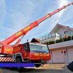 Sewa mobil Crane terbaik di Setu, Bekasi 087881295014