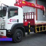 Sewa mobil Crane terbaik di Bencongan 087881295014