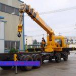 Sewa mobil Crane terbaik di Pondok Jaya 087881295014