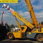 Sewa mobil Crane terbaik di Sudimanik 087881295014