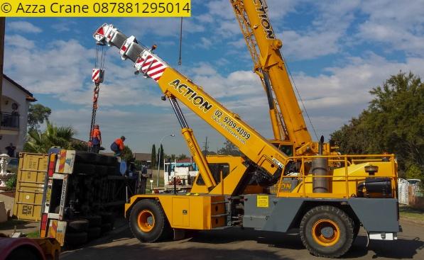 Sewa mobil Crane terbaik di Wangunharja 087881295014