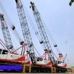 Sewa mobil Crane terbaik di Pandat 087881295014
