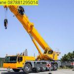 Sewa mobil Crane terbaik di Cikatapis 087881295014