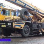 Sewa mobil Crane terbaik di Bangka 087881295014