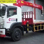Sewa mobil Crane terbaik di Budi Mulya 087881295014