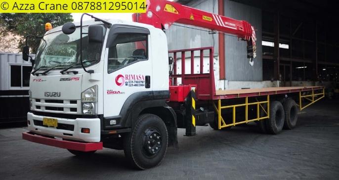 Sewa mobil Crane terbaik di Telajung 087881295014