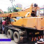 Sewa mobil Crane terbaik di Tambakbaya 087881295014