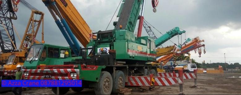 Sewa mobil Crane terbaik di Campaka 087881295014