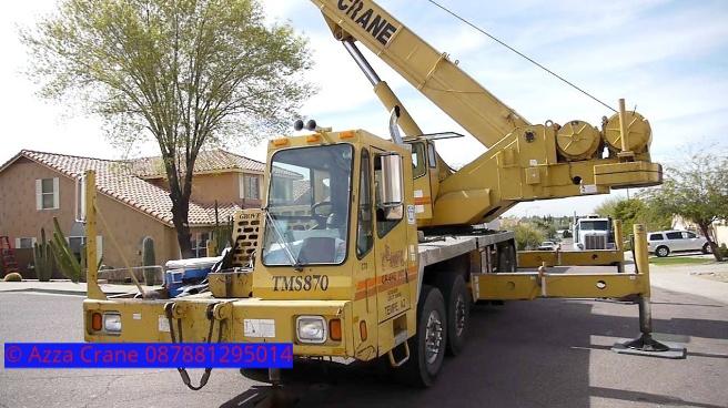 Sewa mobil Crane terbaik di Sukamanah 087881295014