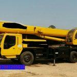 Sewa mobil Crane terbaik di Cikaret 087881295014
