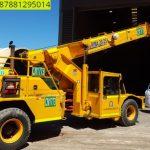 Sewa mobil Crane terbaik di Gandul 087881295014