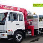 Sewa mobil Crane terbaik di Sumurbatu 087881295014