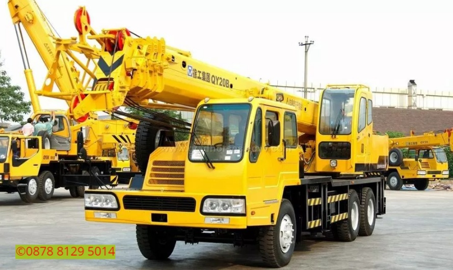 Sewa mobil Crane terbaik di Sukanagara 087881295014