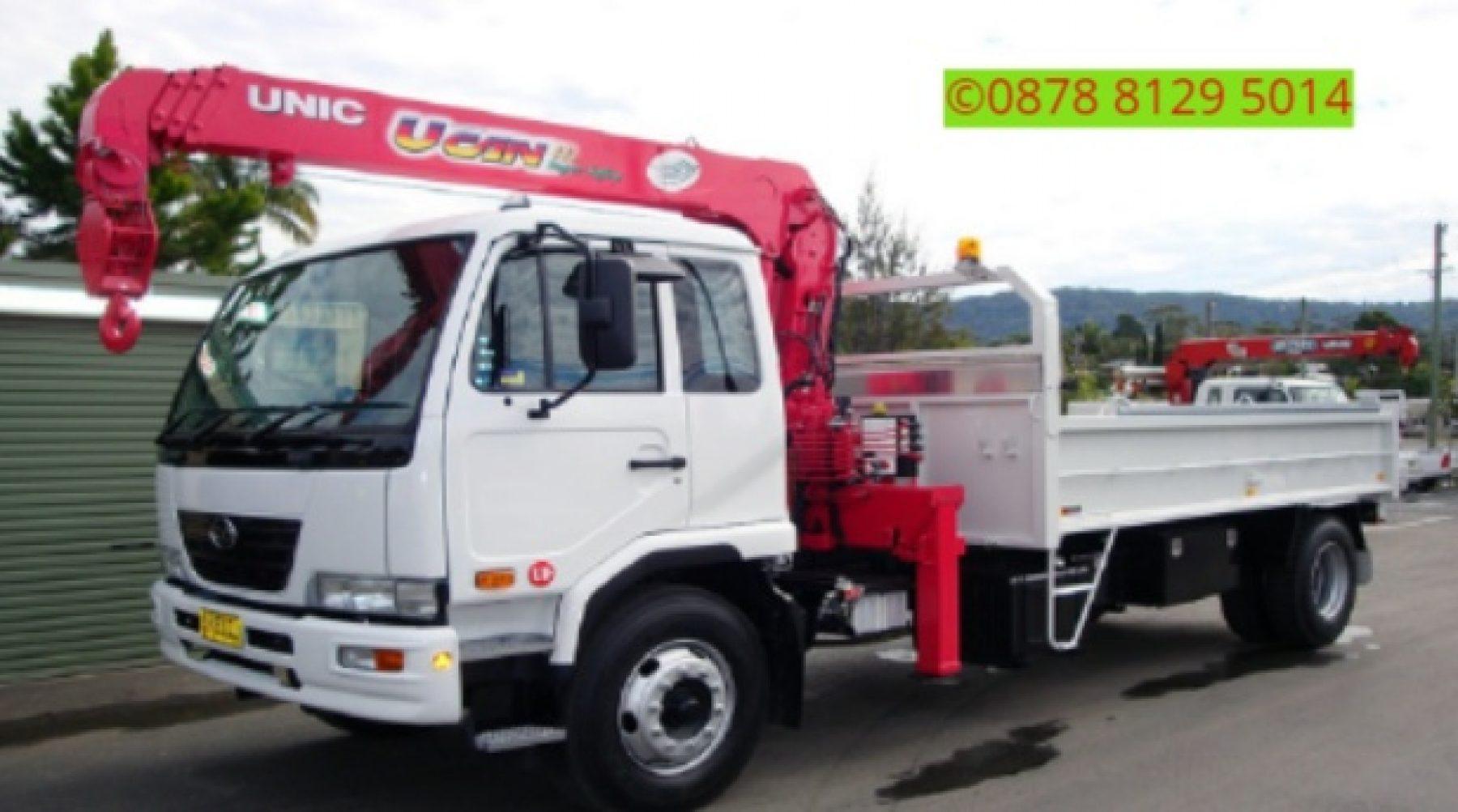 Sewa mobil Crane terbaik di Tarumajaya, Bekasi 087881295014