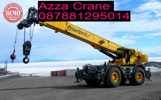 Sewa Mobil Crane