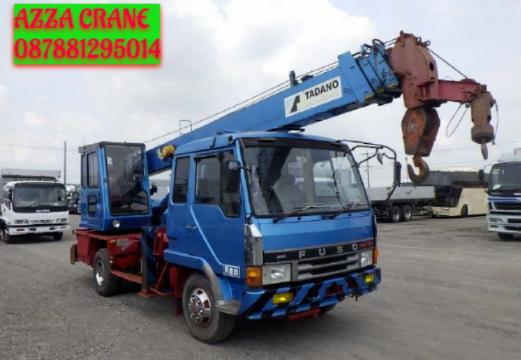 Sewa Mobil Crane Terbaik di Sekong