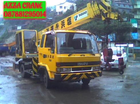 Sewa Mobil Crane Terbaik di Talaga