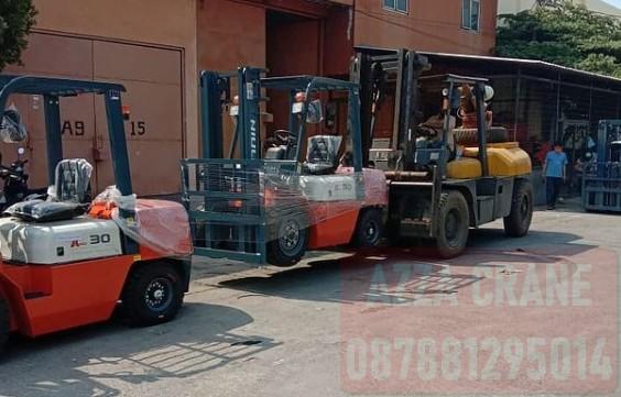 Sewa Forklift di Duri Utara