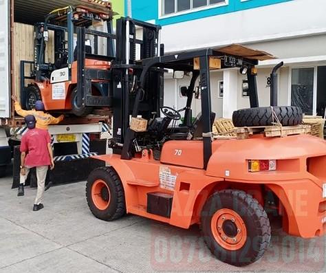 Sewa Forklift di Tanjung Duren Utara