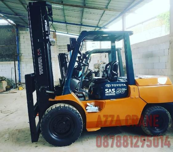 Sewa Forklift di Teluknaga