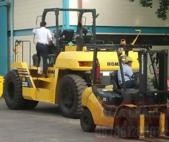 Sewa Forklift di Rambutan