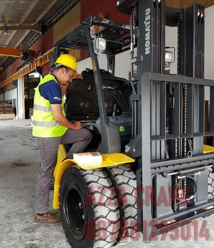 Sewa Forklift di Petamburan