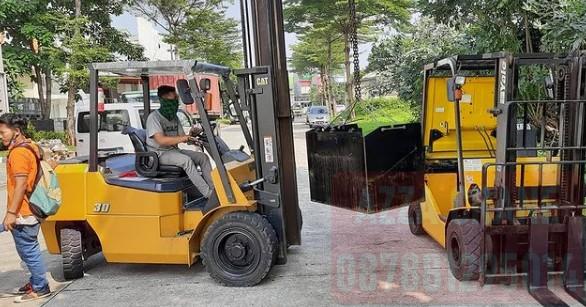 Sewa Forklift di Gandul