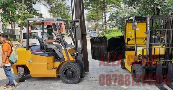Sewa Forklift di Jati