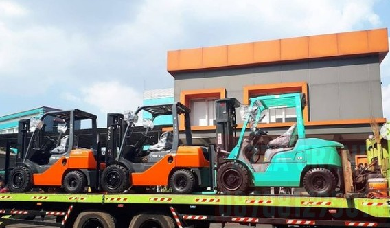 Sewa Forklift di Harapan Baru