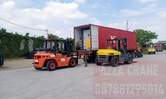 Sewa Forklift di Duren Tiga