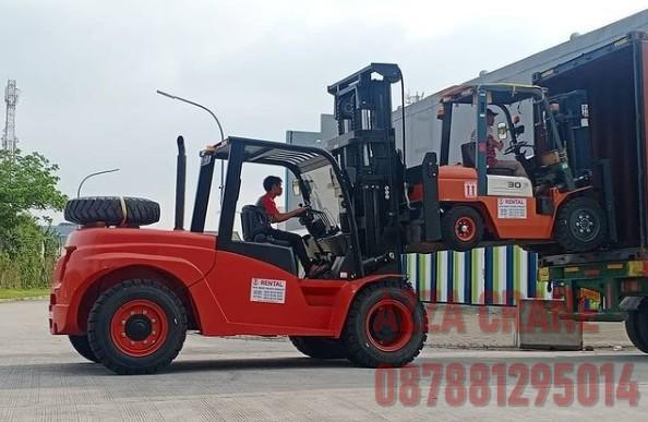Sewa Forklift di Curug