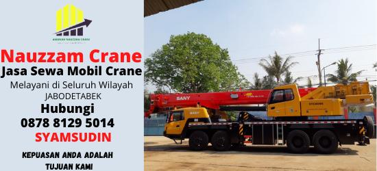 Rental Crane Terbaik di Jakarta Hubungi 087881295014