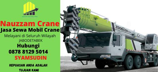 Rental Crane Terbaik di Bekasi Hubungi 087881295014